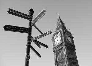 Our work - 2013 signpost+bigben